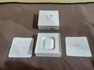 Apple AirPods como nuevos con estuche de carga