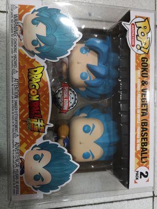 Funko Pop Goku y Vegeta Baseball