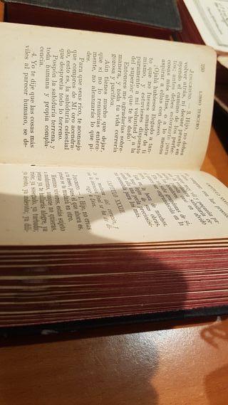 Misal antiguo libro religion IMITACION DE CRISTO