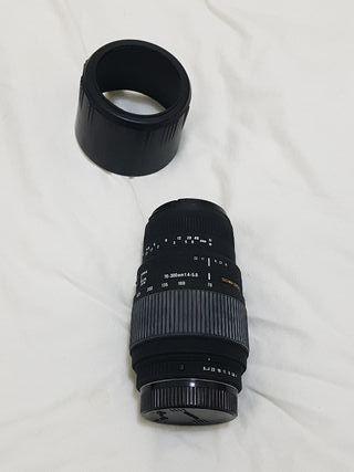 Tele-objetivo Sigma 70-300