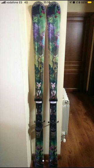 Esquís nordica phenom 170