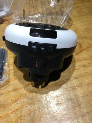 Calefactor eléctrico portátil nuevo