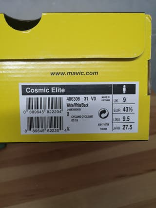 Mavic Cosmic Elite