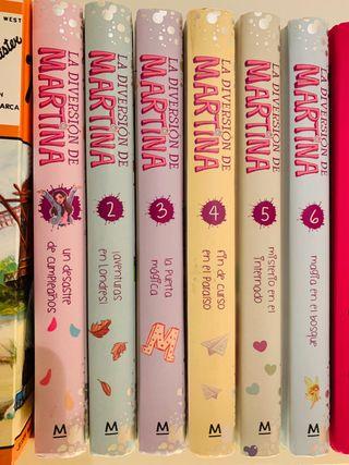 Coleccion libros Martina