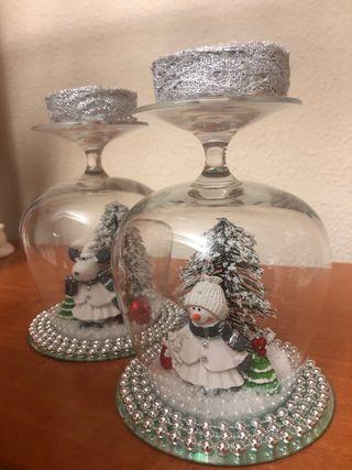 Adorno navideño/ centro de mesa