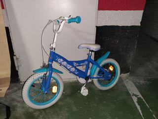 Bicicleta niño/niña de Frozen