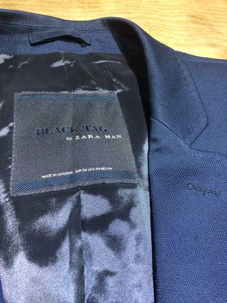 Talla 54 XL Americana hombre Zara ropa
