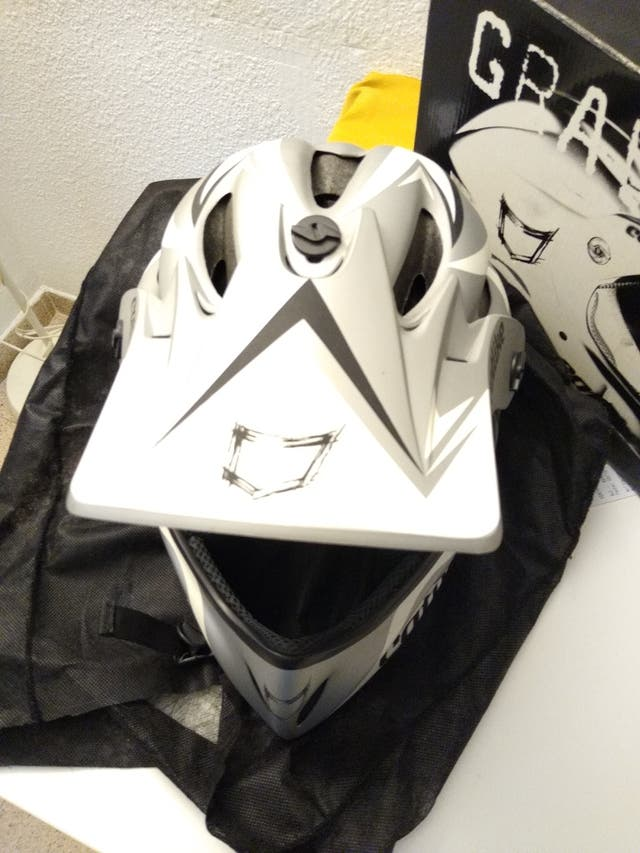 casco bici integral