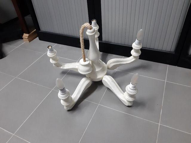 lámpara Blanca