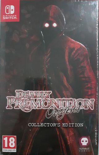 PRECINTADO. DEADLY PREMONITION Origins - Collector