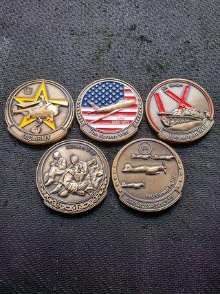 monedas conmemorativas guerra de corea 1950-1953.