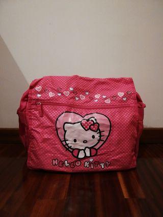 Bolsa cartera de Hello Kitty.