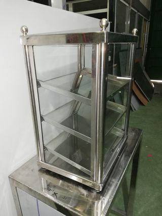 vitrina para gofres o churros rellenos