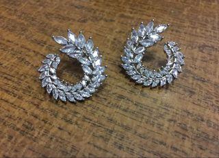 Pendientes de cristal para novia invitada madrina