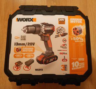 Vendo taladro percutor Worx WX373