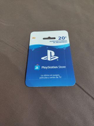 Tarjeta 20€ PSN PS4 PlayStation