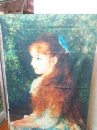 pañuelos de cuadros de arte famosos en cashmere
