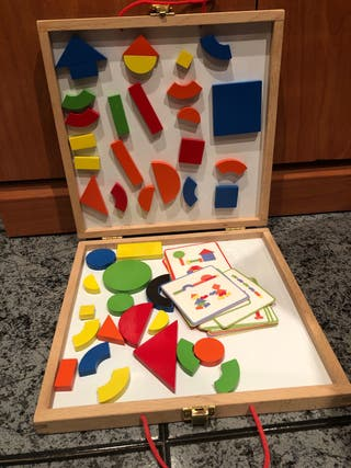 maletín puzzle magnetico