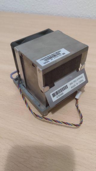 Bloque refrigeración y ventilador para procesador