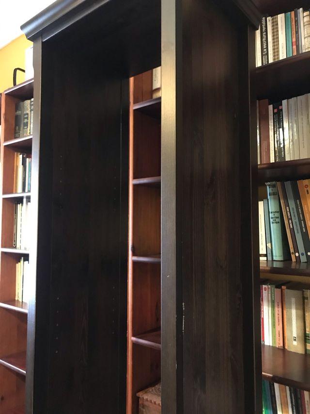 2 Librerías ikea Markor marrón oscuro