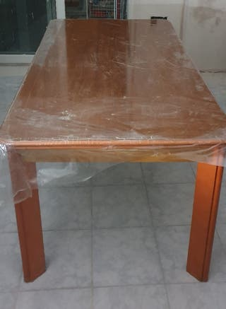 Mesa comedor madera maciza 160x90cm (75cm alto)