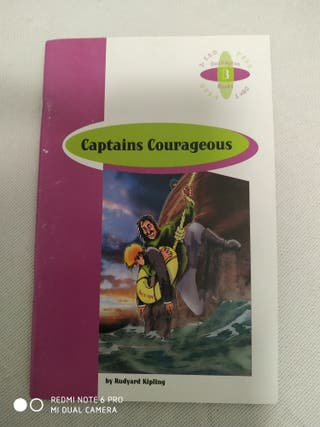 Libro: Captains Courageous (Inglés)