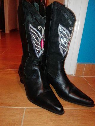 botas cowboy piel auténticas edición limitada
