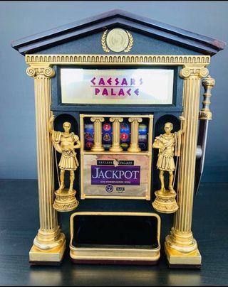 Máquina tragamonedas CAESARS PALACE chapada en oro