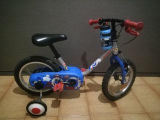 Bicicleta niñ@ 14 pulgadas (2 a 4 años)