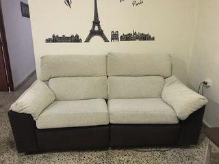 Sofa dos plazas electrico