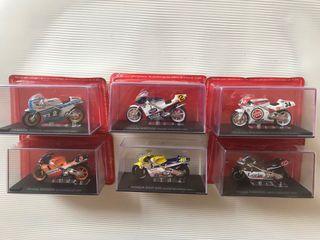 Motos carreras de colección.