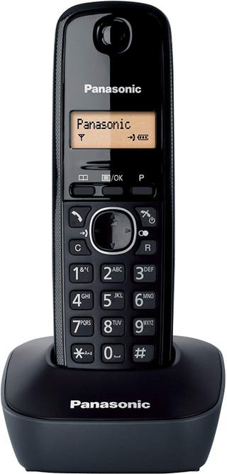 Teléfono fijo inalámbrico Panasonic KX-TG1611