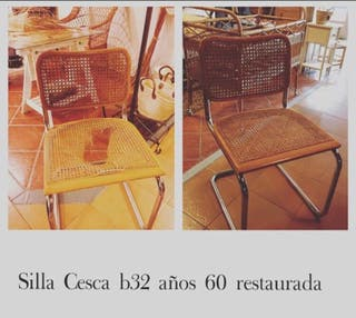 Reparación sillas rejilla