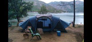 tienda de campaña familiar quechua 4.2 xl air