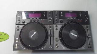 Gemini CDJ 600 platos