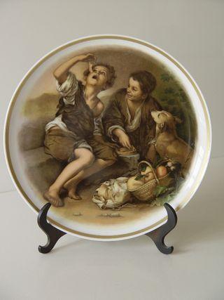 Plato porcelana alemana