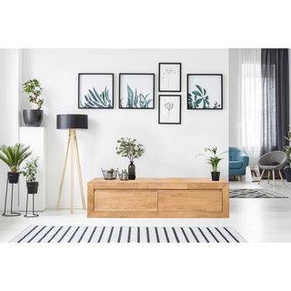 Aparador Recibidor Mueble madera maciza roble