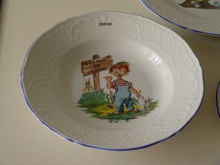Set porcelana Capeans