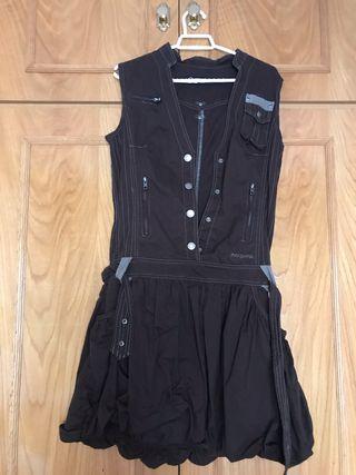 Vestido Zergatik L falda abombada + Jersey