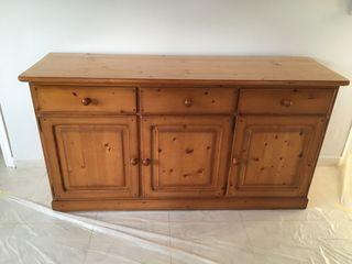 Muebles para salón madera maciza