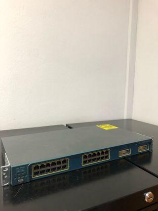 Switch Cisco Catalyst 24 puertos
