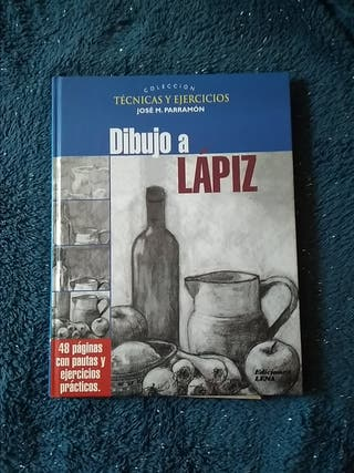 LIBRO DE DIBUJO A LÁPIZ