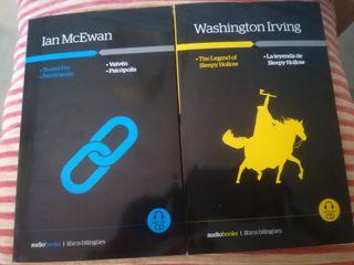 2 libros inglés - español