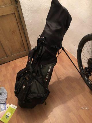 Bolsa de palos de golf con juego completo de palos