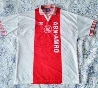 AJAX Fútbol 95-96 camiseta XL