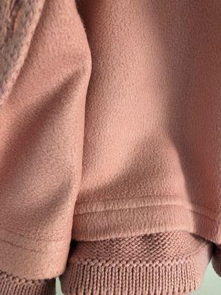 abrigo neck & neck 3-6 M + manoplas a juego