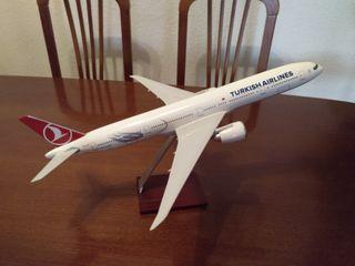 Maqueta de avion compañía turkish-(Sin Estrenar)-