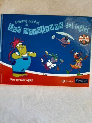 Libro en inglés,(con ayuda en español) para niñ@s