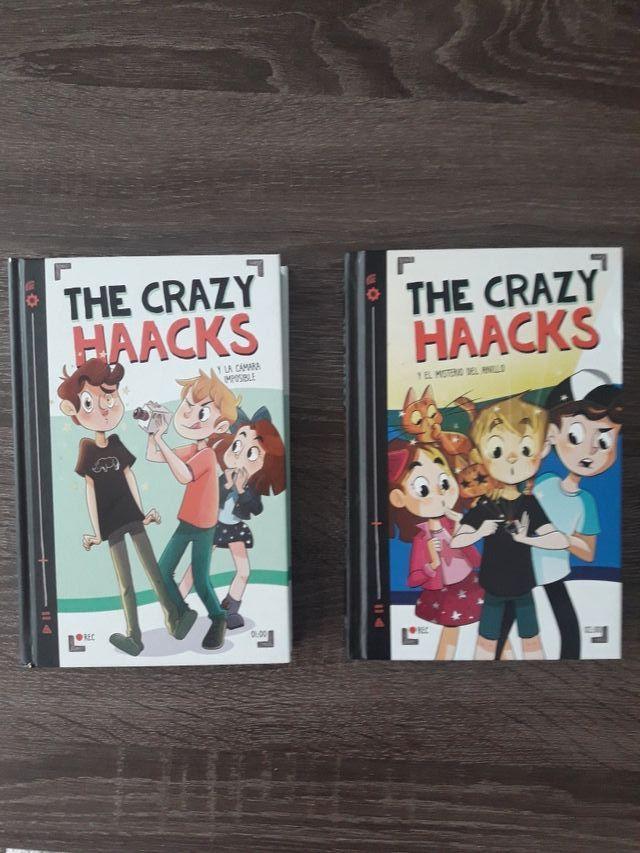 Dos libros de The Crazy Haacks