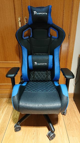 TT Esports GT-Fit 100 - Silla Gaming - Azul